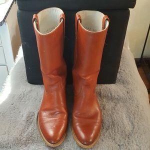 Dingo Vintage Cowboy Boots Leather EUC 9.5 D